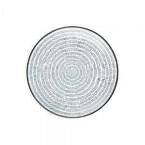 SHINTO - Πιάτο με γραμμές  O 21 cm