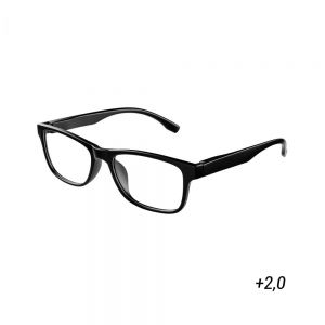 GOOD LOOKING - γυαλιά οράσεως μαύρο ορθογώνια.  2,0