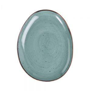 FINCA - πιάτο μπλε 27x21cm
