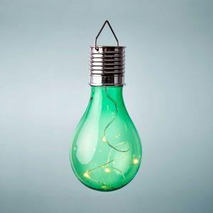 SUNLIGHT - κρεμαστή λάμπα ηλιακής ενέργειας, πράσινη