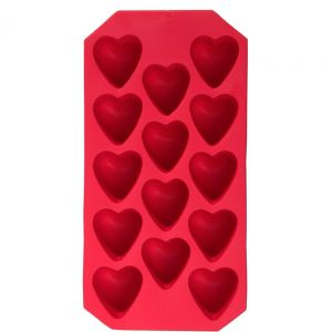COOL DOWN - παγοθήκη σε σχήμα καρδιάς, κόκκινη