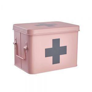 MEDIC - κουτί πρώτων βοηθειών ροζ