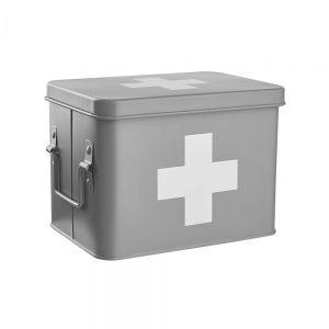 MEDIC - κουτί πρώτων βοηθειών ανθρακί