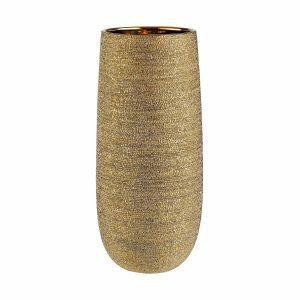 ASTRID - κεραμικό βάζο 38cm χρυσό