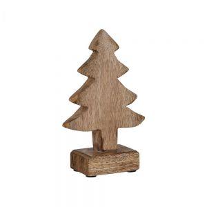 FOREST - διακοσμητικό έλατο από ξύλο μάνγκο 18cm