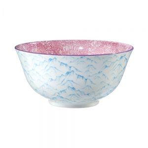 ORNAMENTS - μπολ μπλε / ανοιχτό ροζ  520