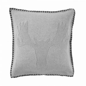 "MASON MOOSE - μαξιλάρι ""moose"" 50x50, γκρι"