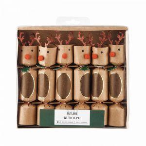 RUDOLPH - συσκευασία Confetti cracker 6 τεμ