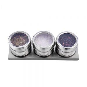 SPICE GUYS - μαγνητικό ράφι καρυκευμάτων σετ 3τμχ