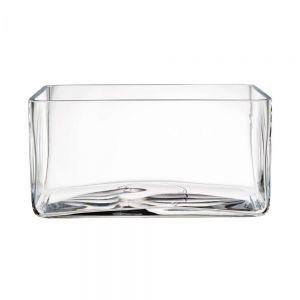 POOL - τετράγωνο γυάλινο μπολ 30x15x15cm