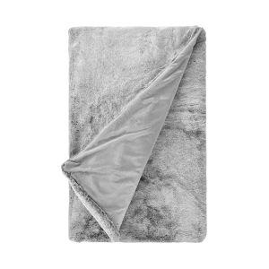 WILD THING - κουβέρτα από συνθετική γούνα,γκρι,200x150