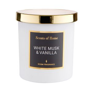 SCENTS OF HOME - αρωματικό κερί White Musk&Vani