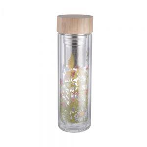 TEA TENDER - μπουκάλι για τσάι με σχέδιο από βοριοπυριτικό γυαλί 0,5 l