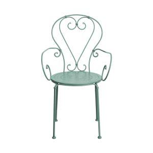 CENTURY - καρέκλα με μπράτσα, σε χρώμα φασκόμηλο
