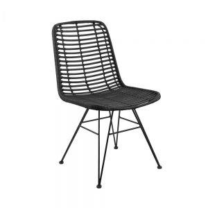 HACIENDA - καρέκλα μαύρη