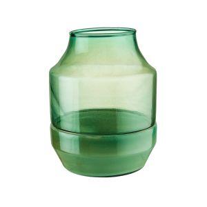 MIA - βάζο 15cm περλέ πετρόλ