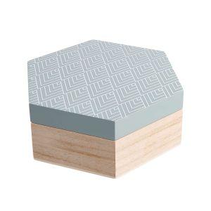 ARTS & CRAFTS - κουτί αποθήκευσης εξάγωνο φασκόμηλο M