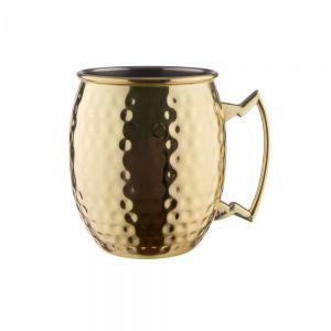 MOSCOW MULE - κούπα σφυρήλατη χρυσή 470 ml