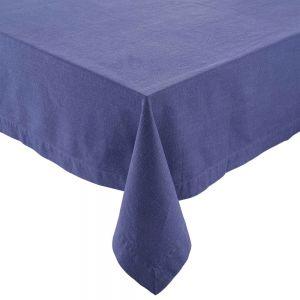 BLUE DAYS - τραπεζομάντηλο, μπλε, 160x160 cm