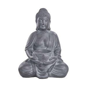 BUDDHA - άγαλμα με βάση για κερί 68cm