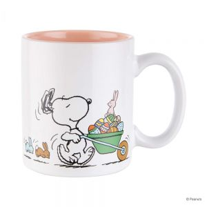 PEANUTS - κούπα Snoopy με λαγουδάκια και αυγά 330 ml