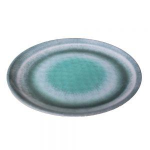 LISBOA - πιάτο πλαστικό τιρκουάζ Δ 27,50 cm