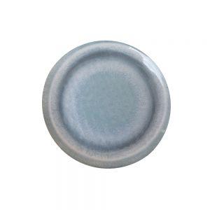 LISBOA - πιάτο πλαστικό σκούρο μπλε Δ 23 cm