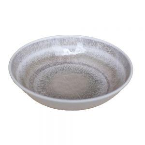 LISBOA - μπολ πλαστικό γκρι Δ 21 cm