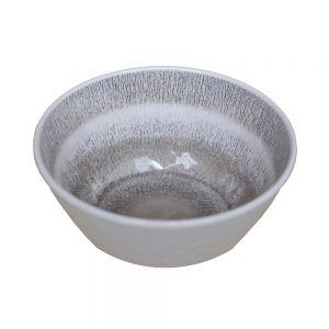 LISBOA - μπολ πλαστικό γκρι Δ 15,5 cm