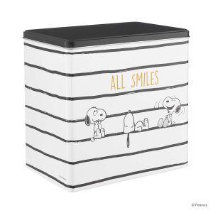 "PEANUTS - κουτί αποθήκευσης ""smiles"""