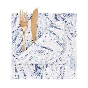 BLUE MARBLE - πετσέτα, 45x45 cm