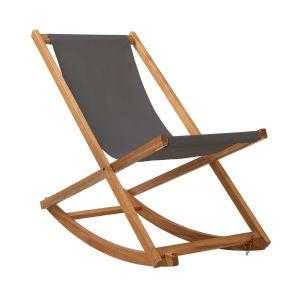 TIME OUT - κουνιστή καρέκλα με γκρι κάλυμμα