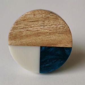 OPEN - πόμολο στρογγυλό ξύλο / χυτοσίδηρο