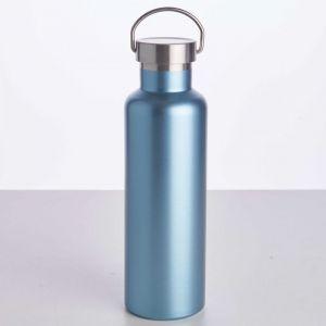 WANDERLUST - μπουκάλι θερμός με λαβή μπλε