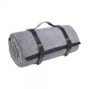 GET TOGETHER XL - κουβέρτα πικνίκ, μαύρη