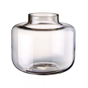 BETTY - γυάλινο βάζο σε ροζ χρώμα, Δ 20cm