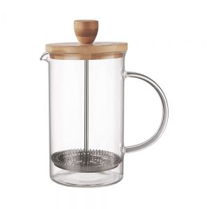 BLACK BEAUTY - πρέσα για καφέ και τσάι bamboo 600 ml