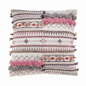 FREE SPIRIT - μαξιλάρι με διακοσμήσεις 50x50 cm
