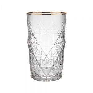 UPSCALE - ποτήρι με χρυσό φινίρισμα 460ml