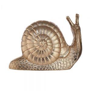 GOLDEN NATURE - διακοσμητικό σαλιγκάρι, χρυσό