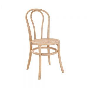 WIENER MELANGE - καρέκλα με κάθισμα ρατάν