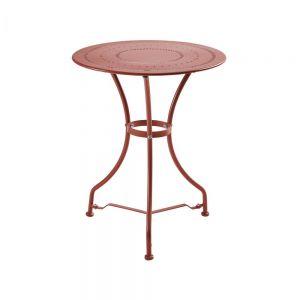 CENTURY - τραπέζι Bistro, κόκκινο της σκουριάς