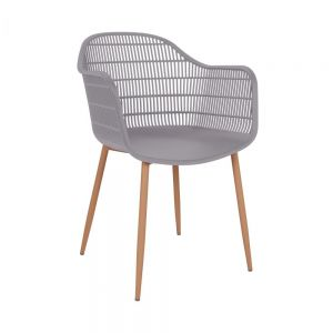 SHELLY - καρέκλα, γκρι