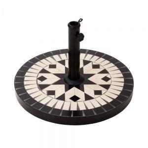 PALAZZO - βάση ομπρέλας 20 kg μαύρο-κρεμ