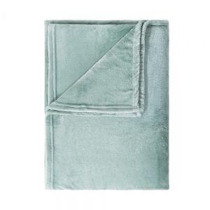 LAZY DAYS - κουβέρτα φλις,φασκόμηλο , 150x200 cm