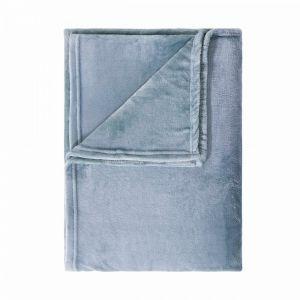 LAZY DAYS - κουβέρτα φλις, μπλε, 150x200 cm
