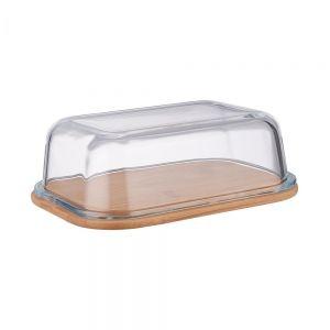 BAMBOO - σκεύος για βούτυρο με γυάλινο καπάκι