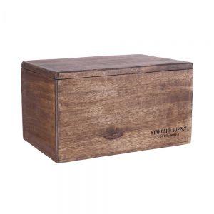 STANDARD SUPPLY - κουτί για αποθήκευση τσαγιού από ξύλο μάνγκο