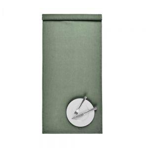 RIGA - Runner Λινό, 160x50, πράσινο