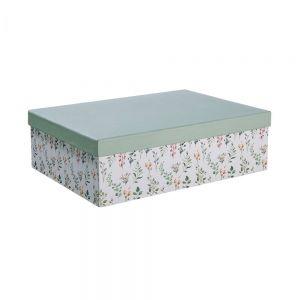 MA FLEUR - κουτί αποθήκευσης floral, διάσταση A4